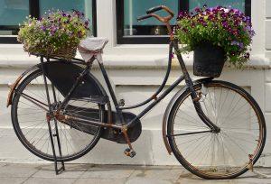 Decoración bici vintage