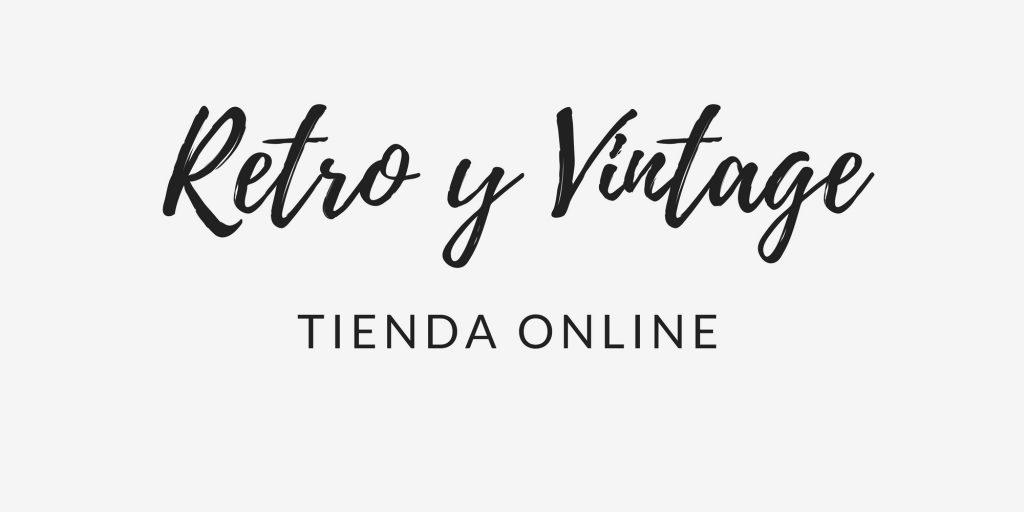Logotipo Tienda online Retro y Vintage