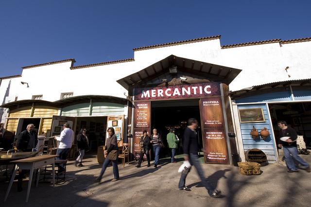 Los 6 mejores mercadillos de antig edades de espa a mayo - Mercado antiguedades barcelona ...