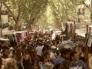 El Rastro de Madrid es uno de los mejores mercadillos de antigüedades