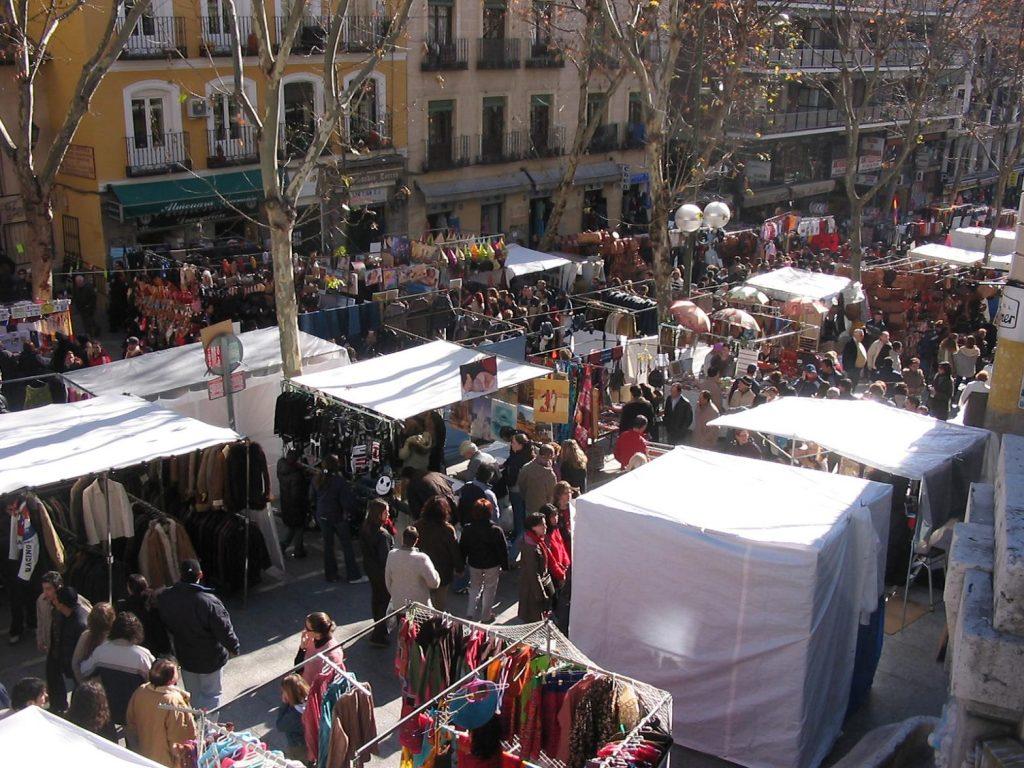 Mercadillos más antiguos de España, El Rastro de Madrid