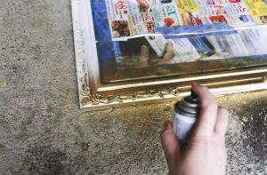 Cómo Pintar espejo vintage paso a paso